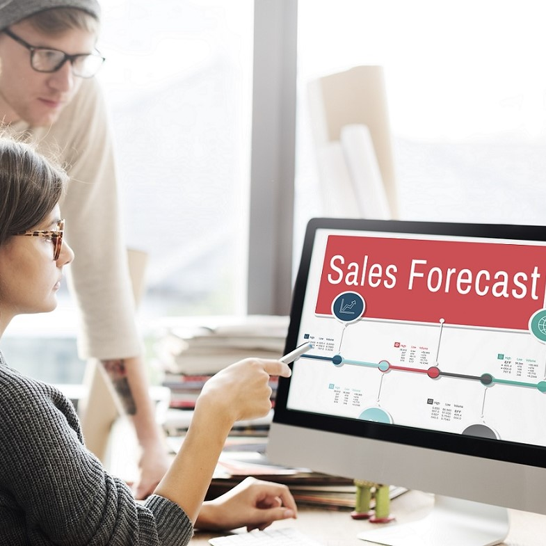ecommerce sales forecasts 2017 to 2021 in the USA