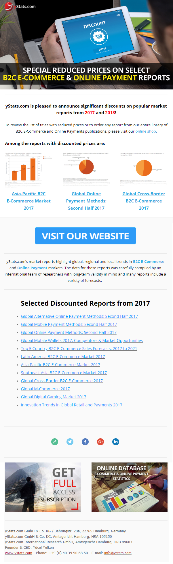 ecommerce online payment reports 2017 2018